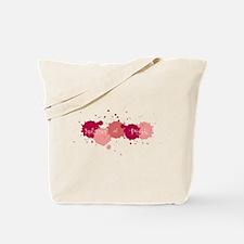 Splashes Pink Tote Bag