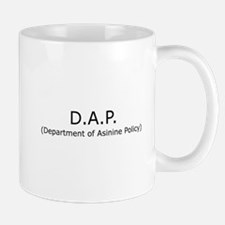 Department of Asinine Policy Mug