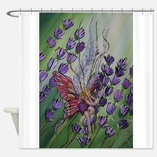 Cordillia the lavender fairy Shower Curtain