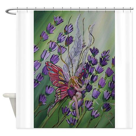 Perfect Cordillia The Lavender Fairy Shower Curtain