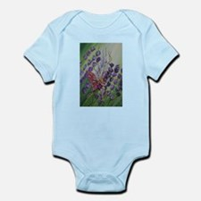 Cordillia the lavender fairy Infant Bodysuit