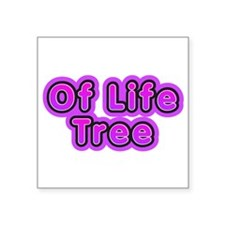 "Only In It for the Money Square Car Magnet 3"" x 3"""