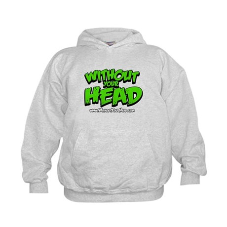 without your head Kids Hoodie