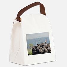 Deep Sea Fishing Canvas Lunch Bag