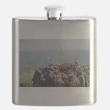 Deep Sea Fishing Flask