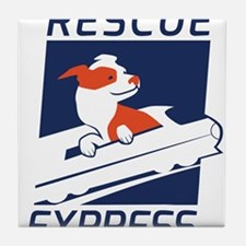 Rescue Express Tile Coaster