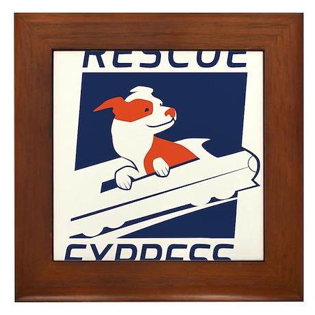 Rescue Express Framed Tile