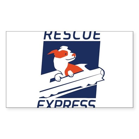 Rescue Express Sticker (Rectangle)
