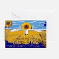 Global Flyer Greeting Cards (Pk of 10)