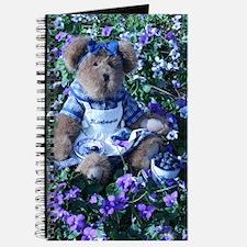 Bluebeary in Purple Flowers Journal