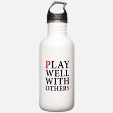 Play Well With Others Water Bottle
