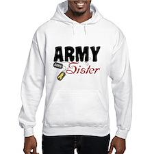 Cute Army sister Hoodie