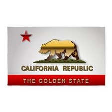 California 3'x5' Area Rug