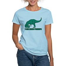 T-rex Hares Pushups T-Shirt