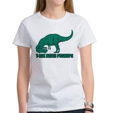 T-rex Hares Pushups Tee