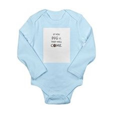 The Resurrection Long Sleeve Infant Bodysuit