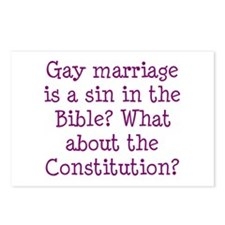 gay marriage is a sin in the Bible? Postcards (Pac