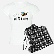He's My Honey Matching Pajamas