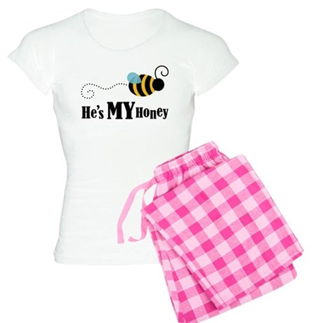 He's My Honey Matching Women's Light Pajamas