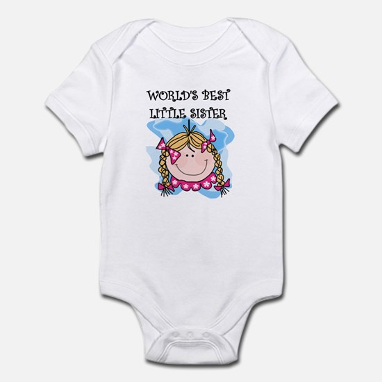 Blond Little Sister Infant Bodysuit
