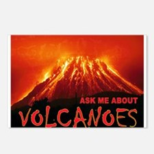 VOLCANOES Postcards (Package of 8)
