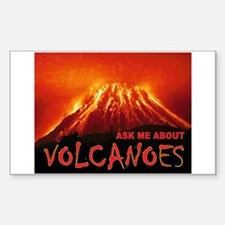 VOLCANOES Sticker (Rectangle)