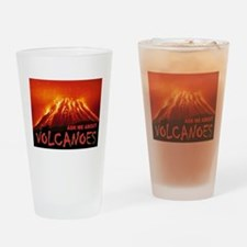 VOLCANOES Drinking Glass