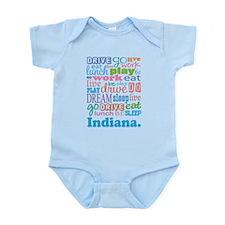 live dream Indiana Infant Bodysuit