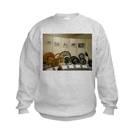 Beginning Of The Wheel Kids Sweatshirt