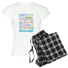 live dream Mississippi Pajamas