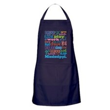 live dream Mississippi Apron (dark)