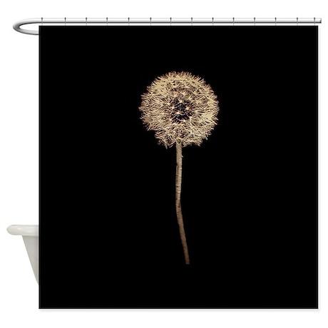 Artistic Dandelion Shower Curtain