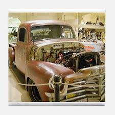 Gun Welded Rat-Rod Truck Tile Coaster
