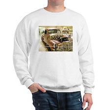 Gun Welded Rat-Rod Truck Sweatshirt
