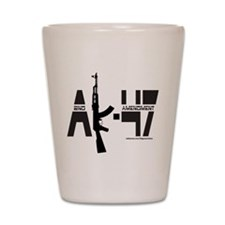 AK-47/SECOND AMENDMENT Shot Glass