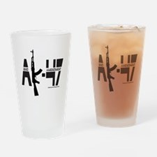 AK-47/SECOND AMENDMENT Drinking Glass