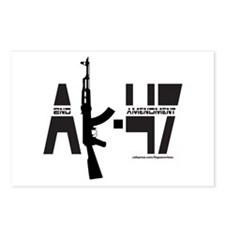 AK-47/SECOND AMENDMENT Postcards (Package of 8)