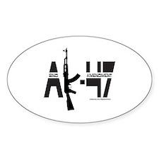 AK-47/SECOND AMENDMENT Decal