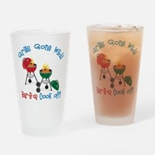 Grill Gone Wild Drinking Glass