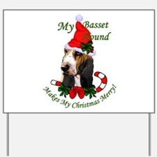 Basset Hound Yard Sign