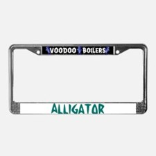 Alligator License Plate Frame