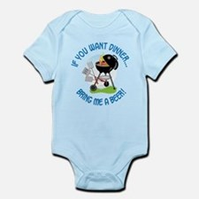 If You Want Dinner Infant Bodysuit
