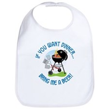 If You Want Dinner Bib