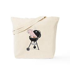 Pig Roast Tote Bag