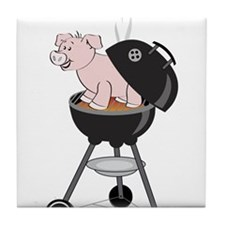 Pig Roast Tile Coaster