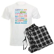 live dream Rhode Island Pajamas