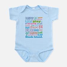 live dream Rhode Island Infant Bodysuit