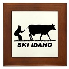 The Ski Idaho Shop Framed Tile