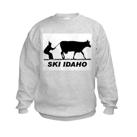 The Ski Idaho Shop Kids Sweatshirt