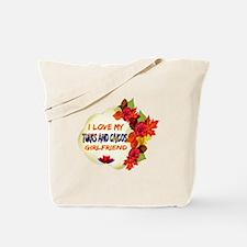 Turks and Caicos Girlfriend Valentine design Tote